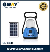 Rechargeable Led Camping Lantern,with 15pcs of 5730SMD 0.5W High power