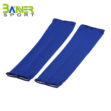 China made spandex Custom sports sun protective cool arm sleeve