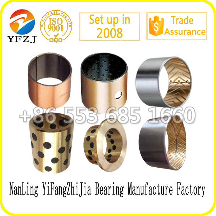 hot sale bearing series casting parts,split steel bushings,hydraulic parts