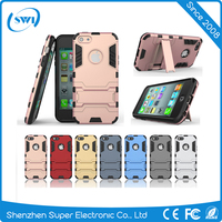 2 in 1 shockproof back cover case for iPhone5 5s SE