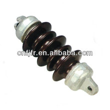 hot sale glazed brown ceramic/porcelain insulator