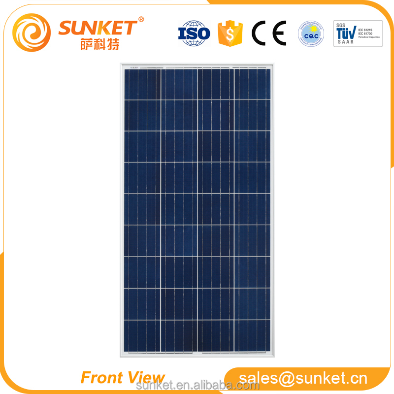 Quality-assured 120v solar panel 120w solar panel free sample