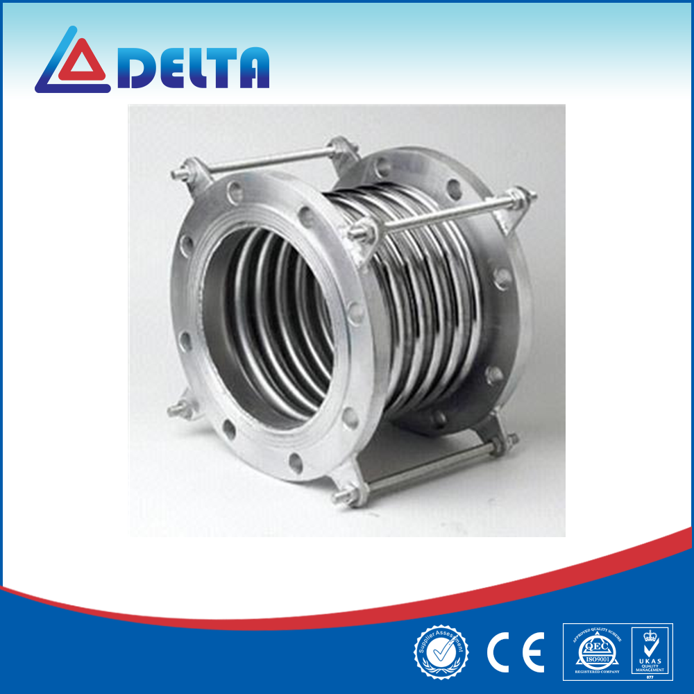 Bellows Metal Rubber Expansion Joint With Union And Flange