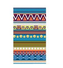 Ethnic style 70 x 140cm Outdoor Polyester Microfiber Printed large beach towels cheap wholesale