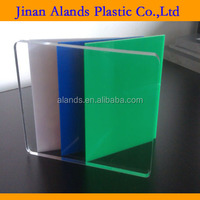 Transparent cast perspex board pmma acrylic sign sheet
