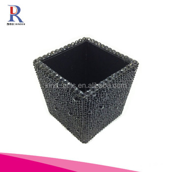 Crystal Paved Handmade Super Bling Pencil Pen Holder