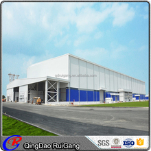 Easy Assembled Low Cost Prefab Steel Workshop by China Manufacturer