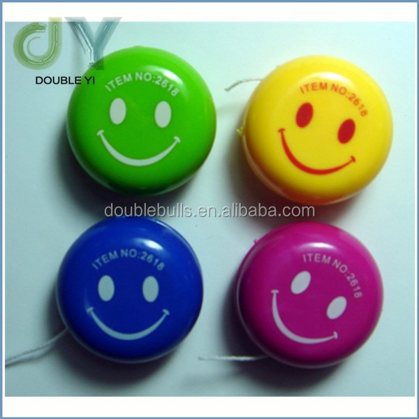 Custom High Quality Promotion Friction Plastic Super cheap YoYo With Logo