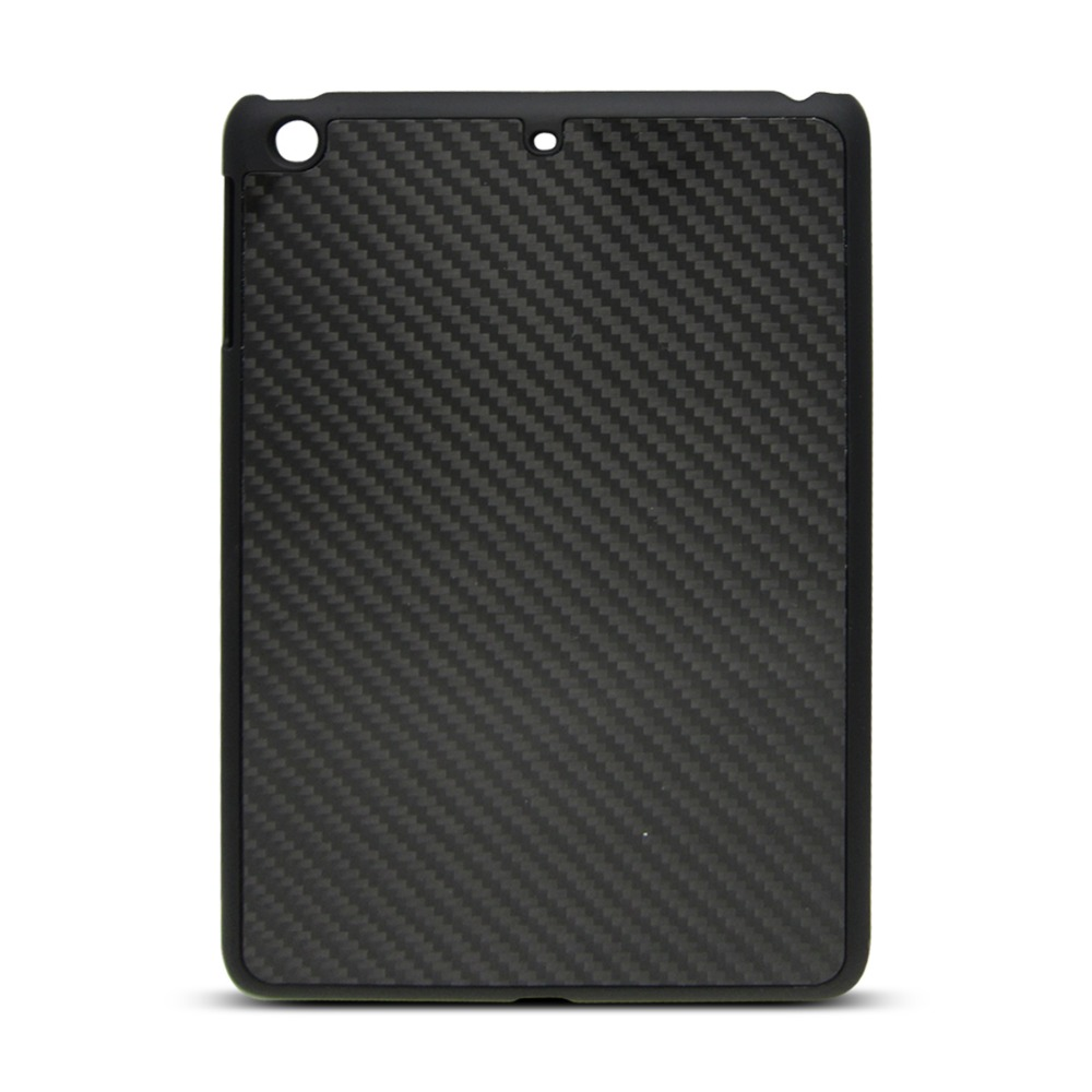 PC + carbon fiber phone case protective back cover new excellent quality phone shell for iPad mini3