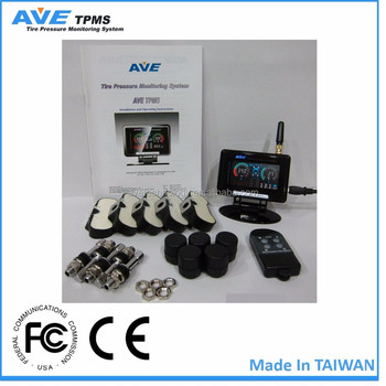 AVE TPMS your best driving monitor partner for tow truck