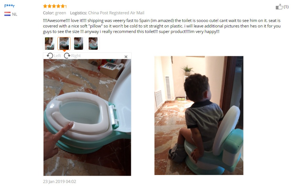 New design kids portable toilet baby toilet training potty baby potty training seat