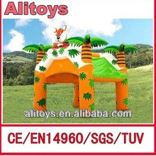 tiger funny inflatable tent price/event tent