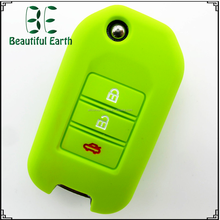 Made in China 3D Three sided OEM Mini silicone car key cover