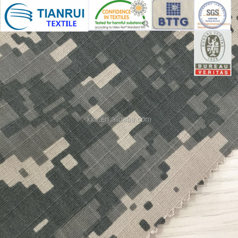T/C camouflage fabric for army workwear