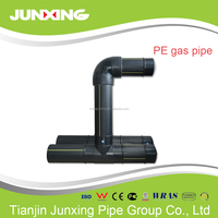 PE gas pipe and fitting size 32mm to 600mm