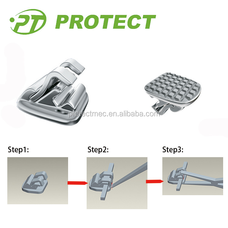 Protect Ortho dental braces Orthodontic lingual brackets dental