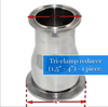 stainless steel 304 reducer for alcohol distillation equipment