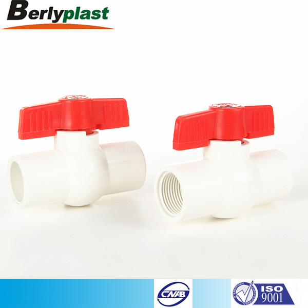 UPVC Plastic Ball Valve made in China