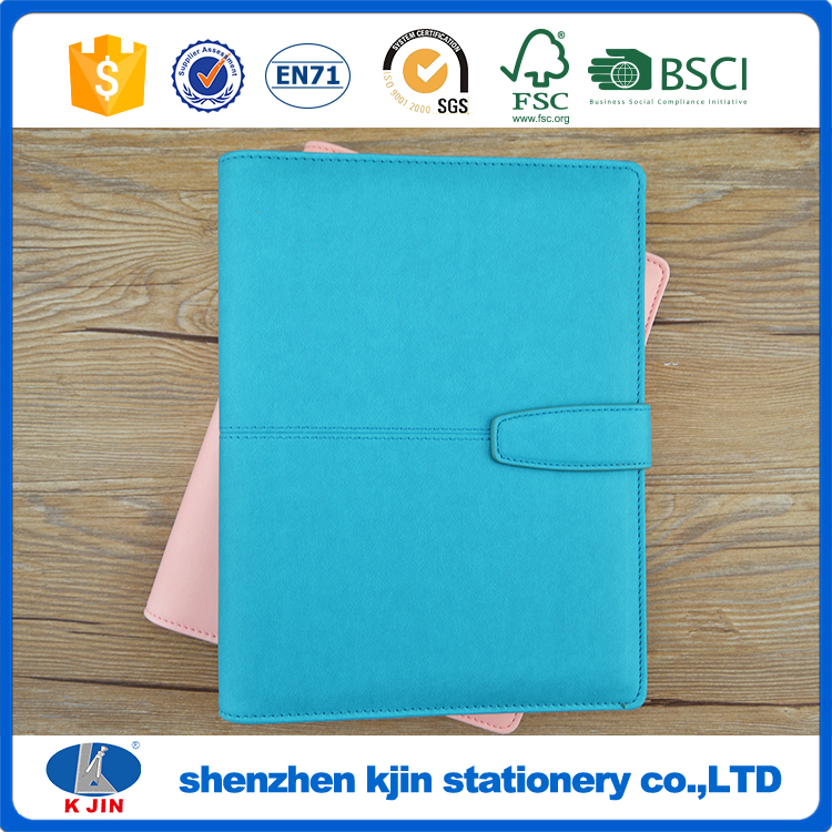 Good price office note book and notepad pen set with leather cover