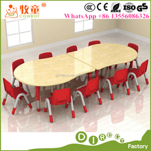 kindergarten study table and chair guangzhou