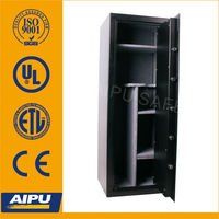 20 gun storage metal gun cabinets NFG5520K263-20G with double bitted key lock /gun safe cabinets/safe box/safe