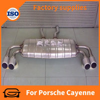 car exhaust tips muffler pipe exhaust mufflers for Porsche Cayenne turbo 2011 auto accessoires