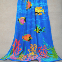 2015 printed beach towel india wholesale