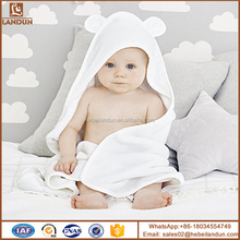 Baby Bamboo Hooded Towel Organic Soft Bath Towel