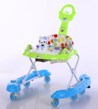 Good quality custom made unique outdoor baby walker with pushing bar