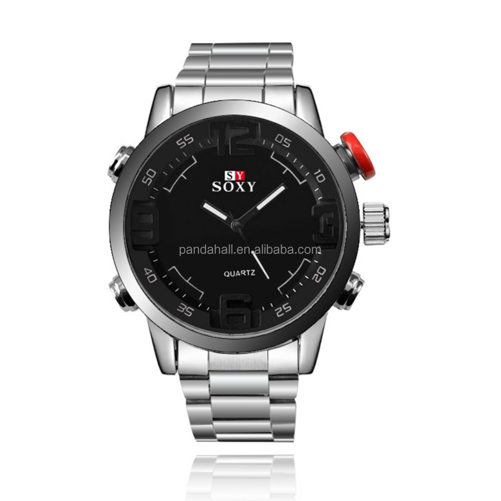 Wholesale New Style Design Outdoor Silver Watch for <strong>Man</strong>