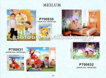 Fashion wall mural-cartoon design wallpaper P41