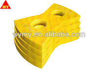 ASTM A128-C crusher hammer for metal recycling