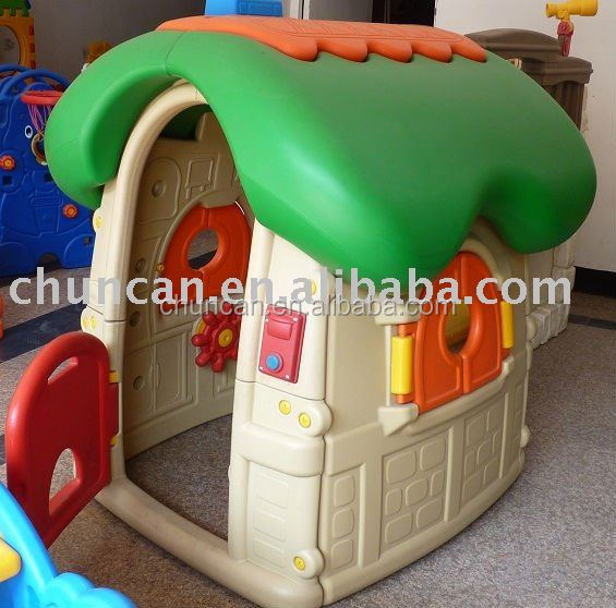 Children indoor colorful plastic small Play house children garden house