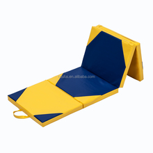 comfortable PU foam foldable play mat for tumbling and playing