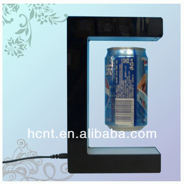 New Technology ! Magnetic Levitating Promotion Display stand, nescafe coffee promotions