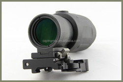 ZB 4X32H China Red dot scope 4x32 red/green illuminated hunting scope for sale