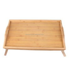 Promotional various durable using bamboo lap trays