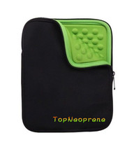 Bubble lined neoprene protecttive sleeve case cover for 8 9 10 inch tablet notebook