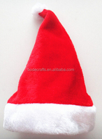 BD-RM203-2 Christmas santa claus crafts plush red Christmas hat Holiday party game show
