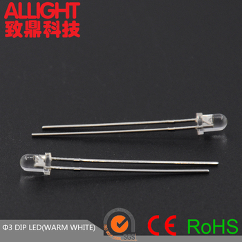 ALLLIGHT 3mm led light emitting diode