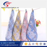 Wholesale cheap custom printed cotton kitchen towel cleaning towel dish towel