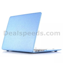 Silk Grain Leather Coated Hard Cases with Keyboard Cover for Macbook Air 13 Case