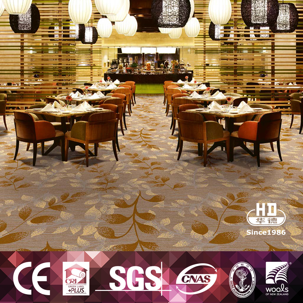 Classical Design Hand Tufted Chinese Restaurant Carpet