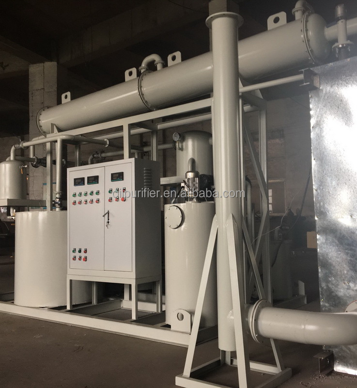 Small size waste motor oil recycling machine,refining used cargo vessel/motor/car/gear oil