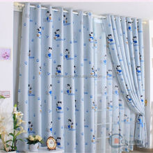 Ready made optic fiber curtain fabrics children curtain