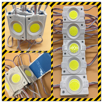 HOT SALE High bright DC12V Round 2.4W Waterproof LED COB Chip/Module
