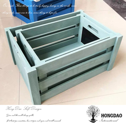 HONGDAO wholesale customized packing gift box wood case