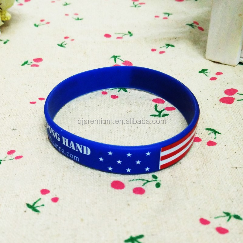 promotional silicone wristband customize