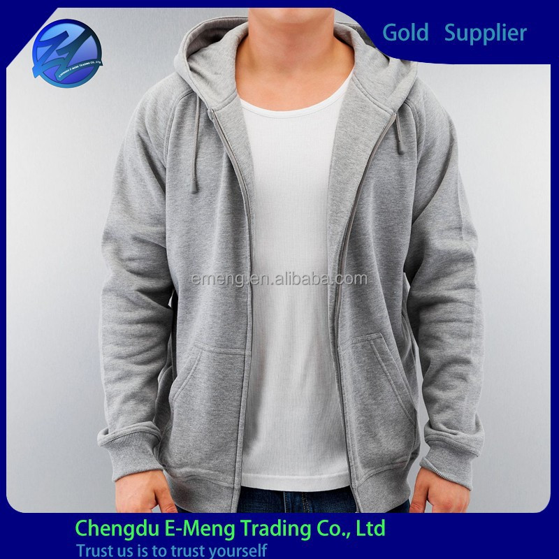 Wholesale Low Price Custom Made American Style Hoody Plain