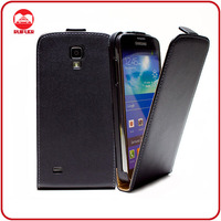 RF Factory Wholesale Ultra Slim Fit PU Leather Magnetic Vertical Flip Case for Samsung Galaxy S4 Active I9295